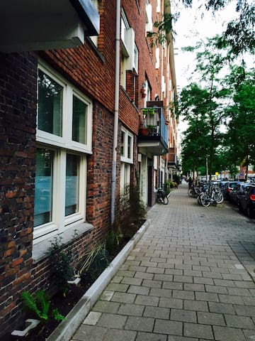 Romantic appartment with garden - Amsterdam - Appartement