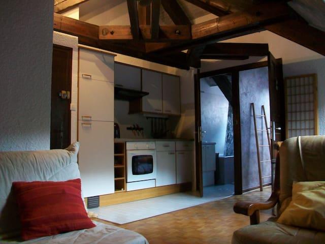 Quiet apartement on Uriage
