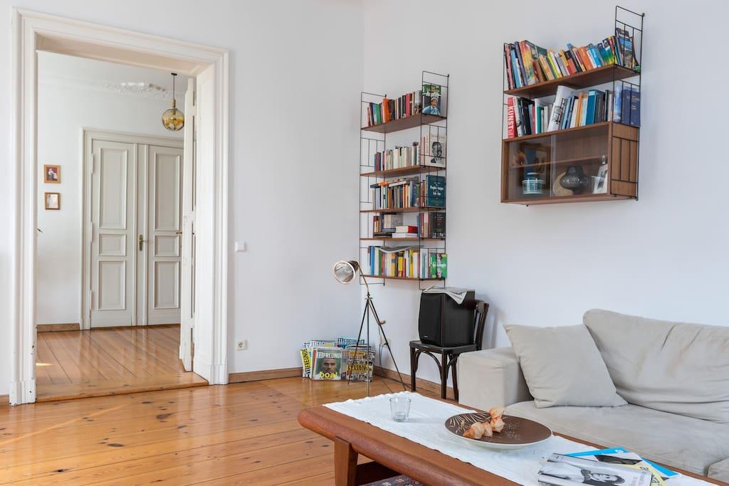 Wohnzimmer/ Leseecke
