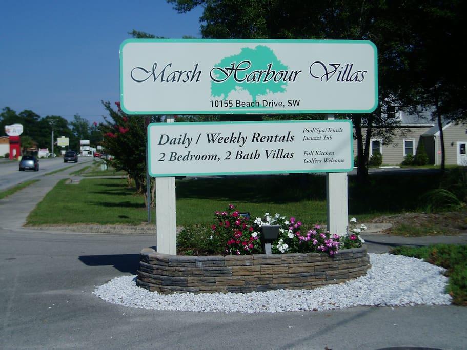 Street Sign at Hwy 179 Entrance