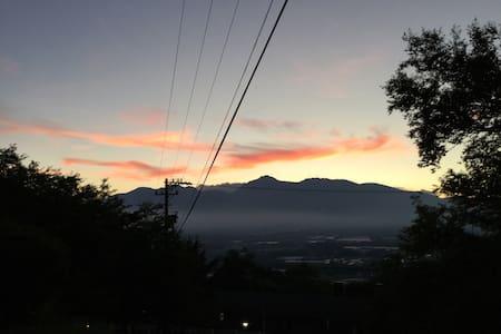 八ヶ岳と星空のゴルフとスキーのリゾートマンション - 南佐久郡川上村御所平