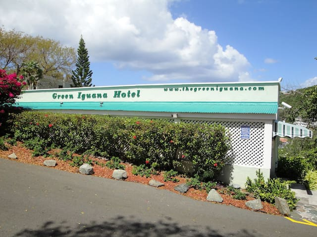 King Bed A5 · King Bed A5 · King Bed A5 · The Green Iguana Hotel
