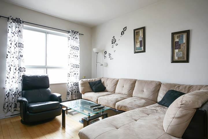 Bright 1 bedroom condo in Montreal