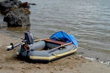 Dinghy provided for anchor-out.  Engine provided if anchorage is further out than 500 yards.