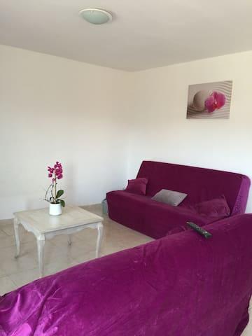 Magnifique appartement rez-de-jardin - Cuttoli-Corticchiato - Apartament
