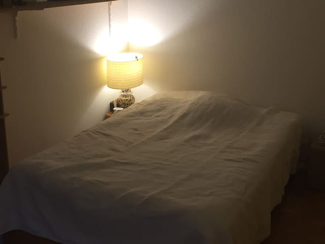 Nice room, ideally located near city center and UN
