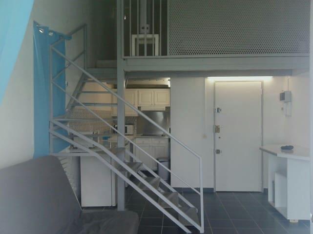 Grand studio pour vacances de rêve - Les Trois-Îlets - Apartment