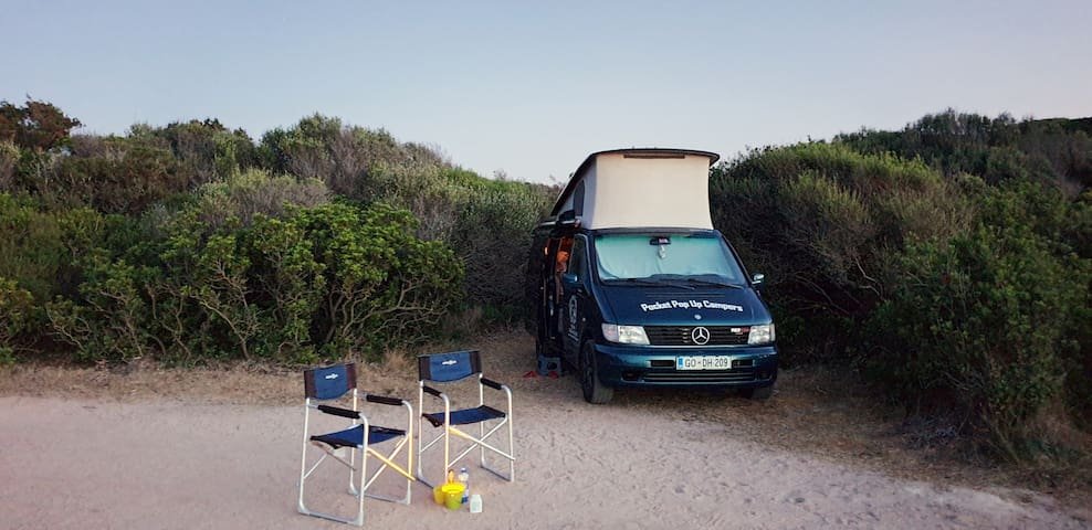 Legendary Marco Polo/Mercedes-Benz Vito campervan