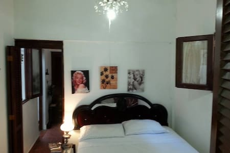 GREAT ROOM In zona colonial priv entranc bath/ a/c - Santo Domingo
