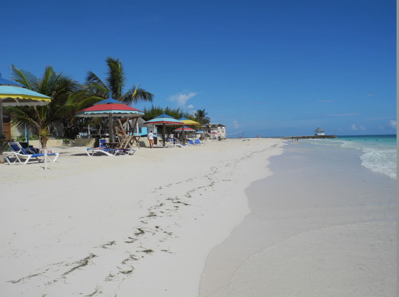 Jamaicas best private beach, at Siver Sands, Duncans, Trelawny-JWI