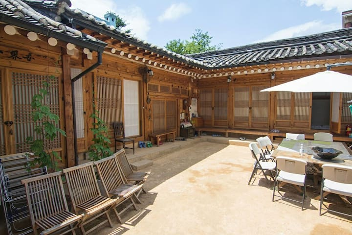 typical Korean-traditional house - Seul