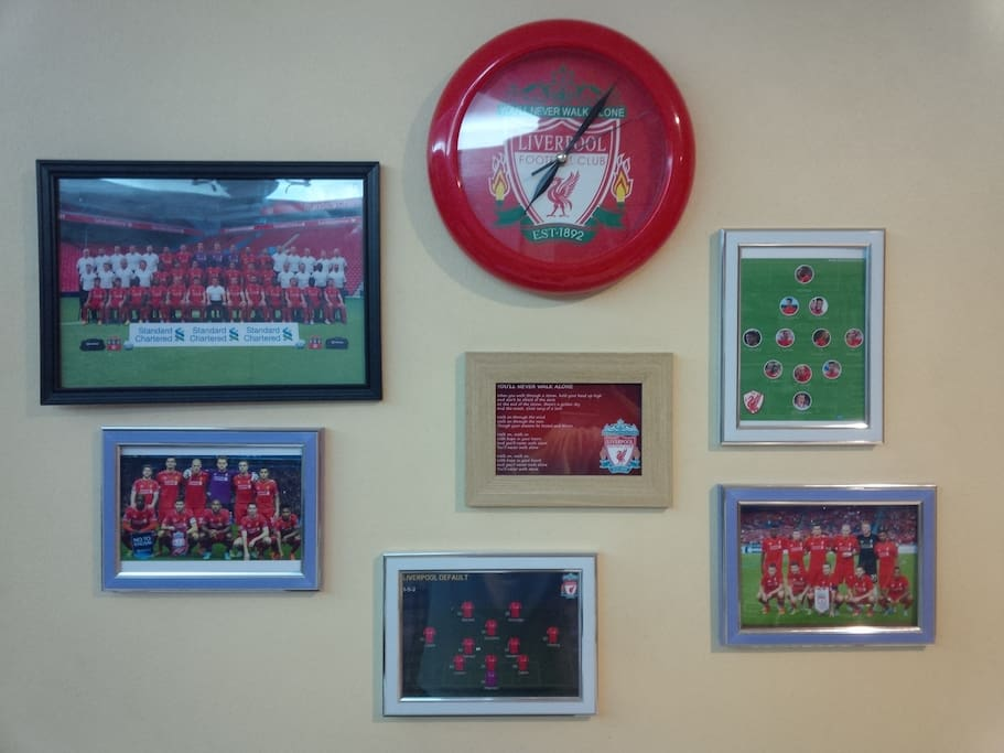 Liverpool Fan's Home..