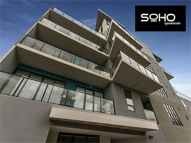 SOHO Apartments Central Geelong - Geelong - Lejlighed
