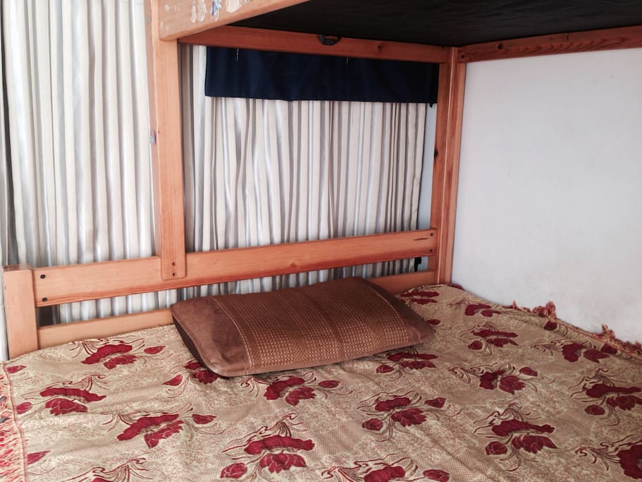 高低木床下铺:1米5宽