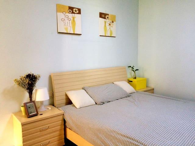 北滨路临江复式简约公寓(享独卫) - Chongqing - Leilighet