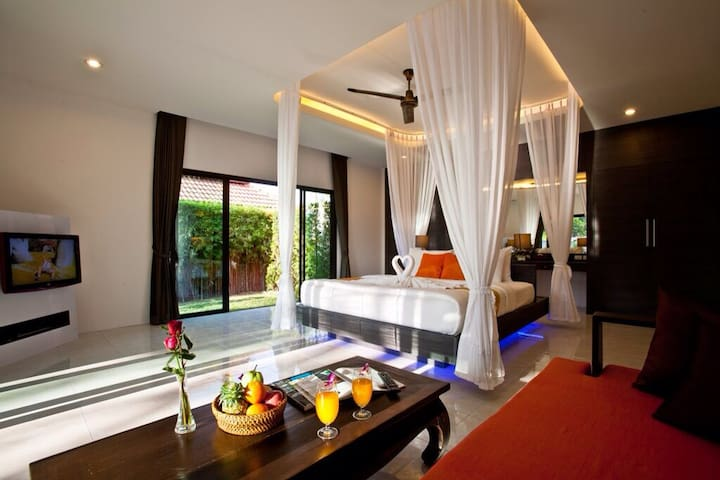 1Bedroom Pool Villa - ABF - Pattaya - Nong Pla Lai - Bed & Breakfast