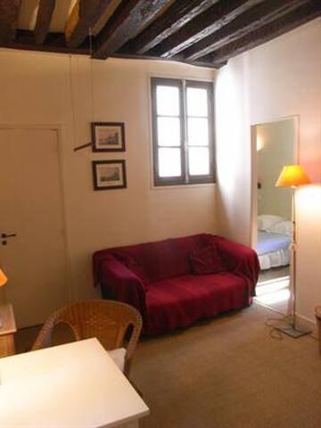 ILE SAINT LOUIS - 30m2 - 2pieces - Parijs - Appartement