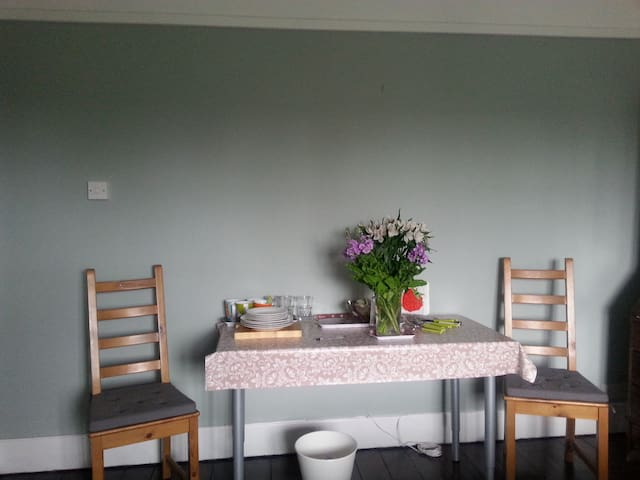 Light airy double room newly