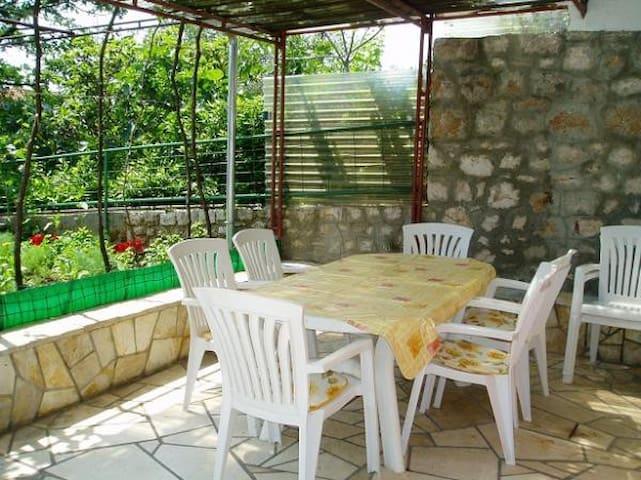 Sea view grand terrace with garden - Novi Vinodolski - Byt