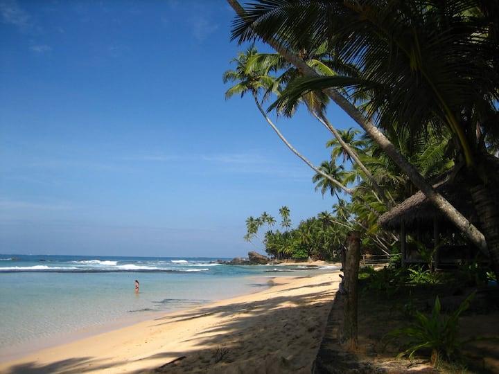 SEA FRONT BEACH CABANA Galawatta Mihiripenna Talpe
