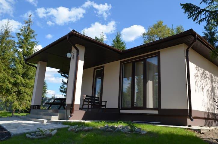Чудесный дом на лесном участке - Pokrov - Casa