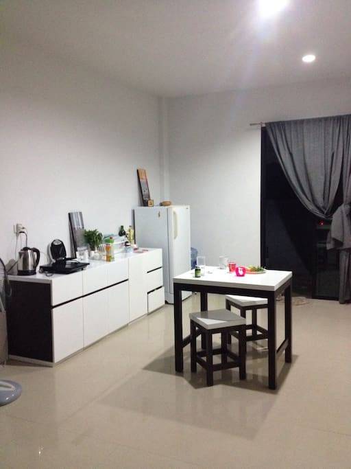 First floor includes kitchen, dining room, toilet room and lounge area.