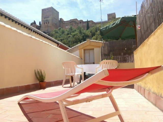 Alhambra views apartment (Albaycin)