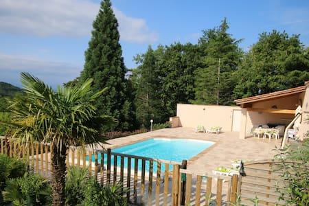 Villa vacances avec piscine, notre havre de paix - Sonnac-sur-l'Hers - Вилла