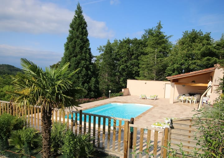 Villa vacances avec piscine, notre havre de paix