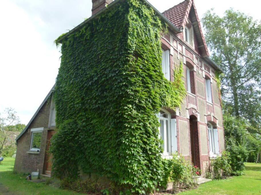 Maison dans la campagne rouennaise maisons louer saint jean du cardonna - Maison campagne normandie ...