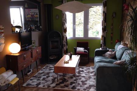 Maison individuelle calme&colorée! - Rumah