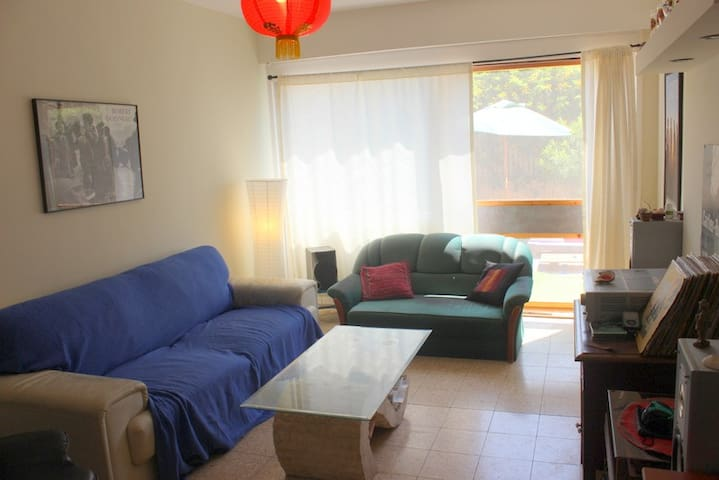 Cozy Beach Apt. w/ Sea View - Shavei Tzion - 公寓