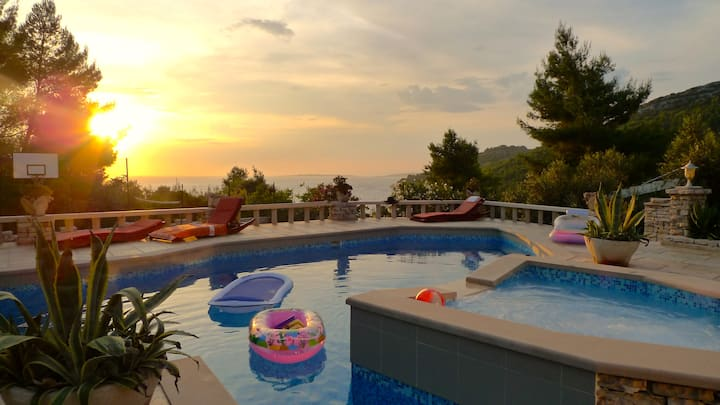 "Stone house Villa Poplat ""Romantic"""