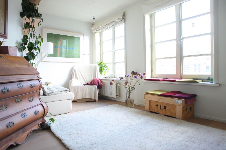 Quiet corner in living room