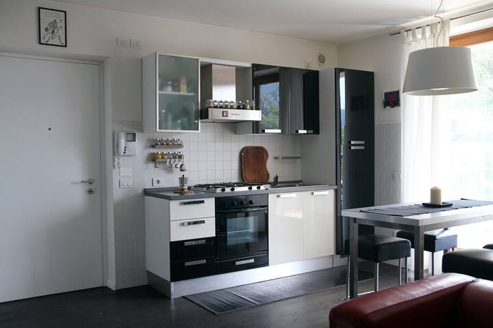 Loft, view and garden in Rovereto