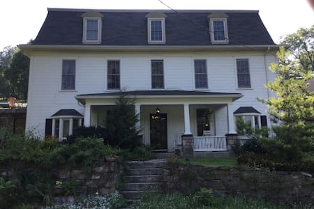 Hist home on fly fish creek, rm/bth - Bellefonte - Maison