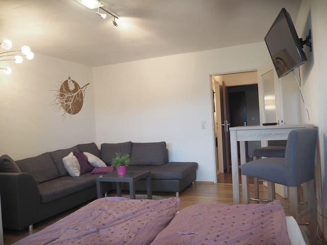 Central, 32m² furnished, Balcony