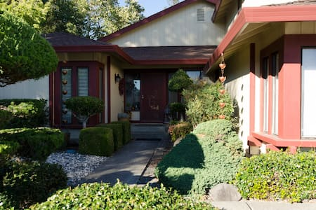 Wine country, SSU, Private entrance and bath - Rohnert Park