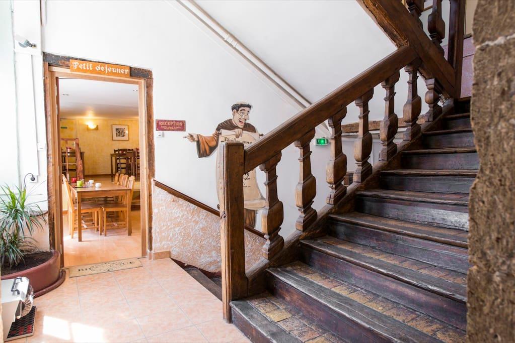 Escalier du XVIIème siècle
