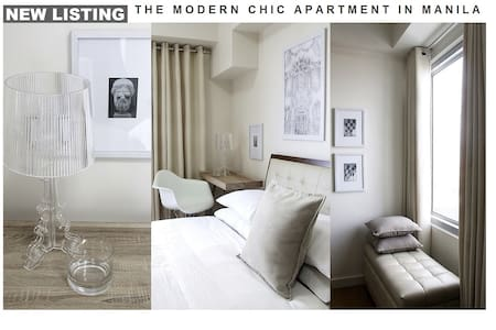 The Modern Chic Apartment In Manila - Manila - Lakás
