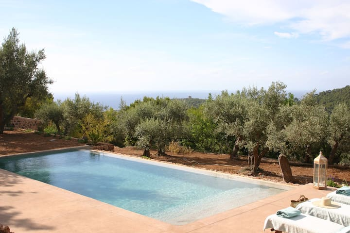 Intimate and cozy finca with views - Port de Sóller - 別荘