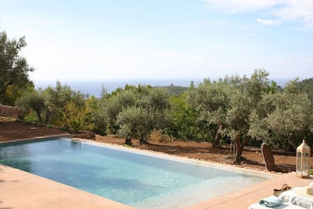 Intimate and cozy finca with views - Port de Sóller