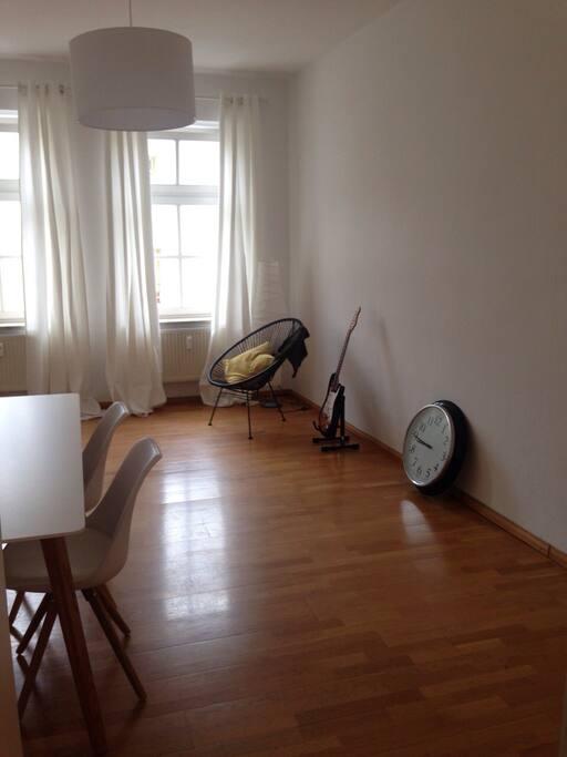Das ist das abzugebende Zimmer (Matratze und Bettwäsche wird zur Verfügung gestellt)