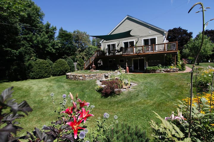 Beautiful Home In Gorham Maine - Gorham - Huis