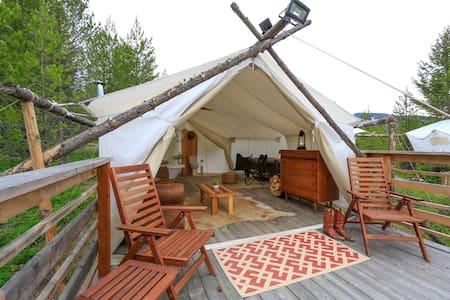 Under Canvas Glacier - Suite Tent - Coram
