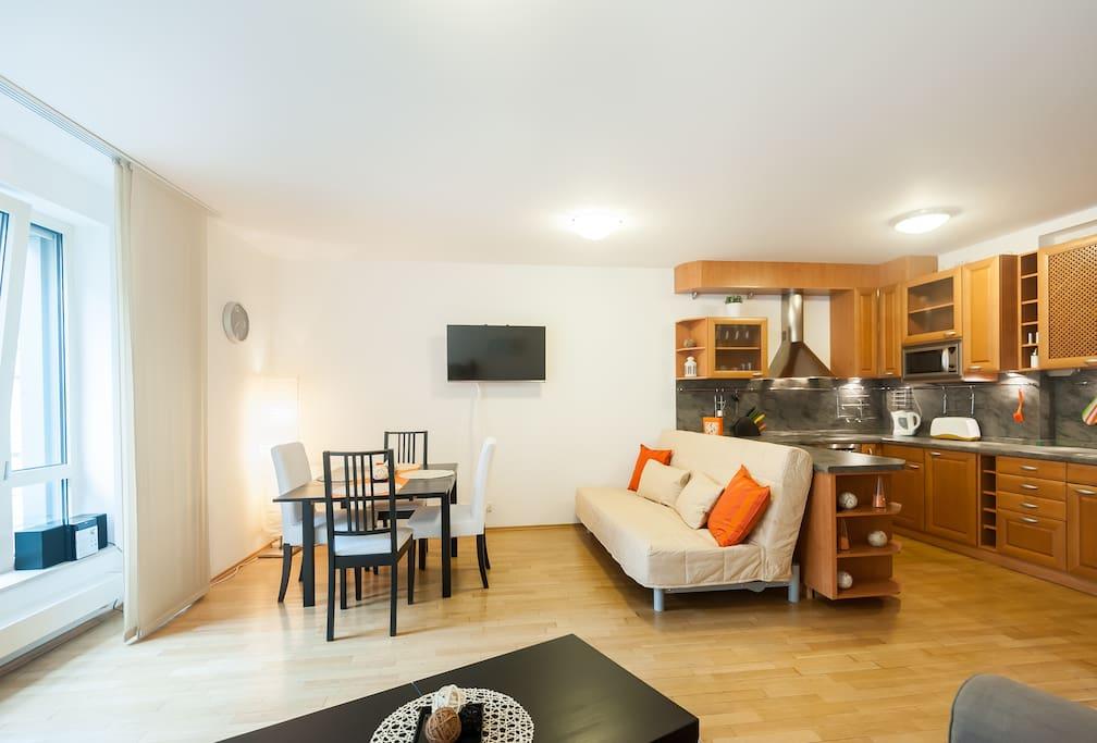 Luxury central apartment in prague apartamentos en for Designer apartment prague