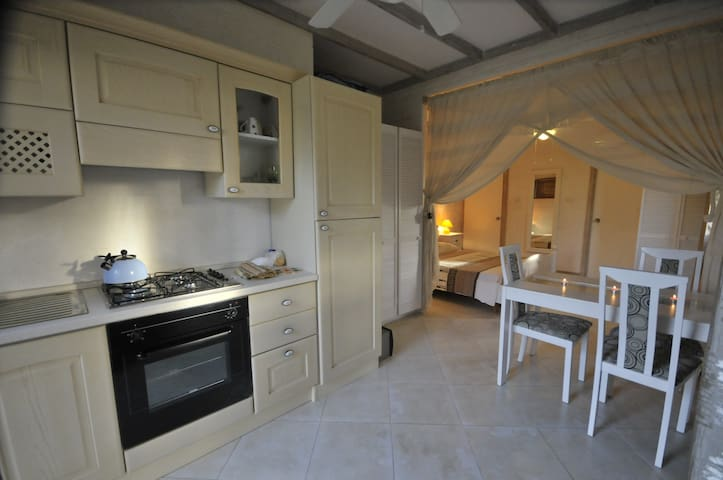 White Coconut Studio-80 meters from the sea!!