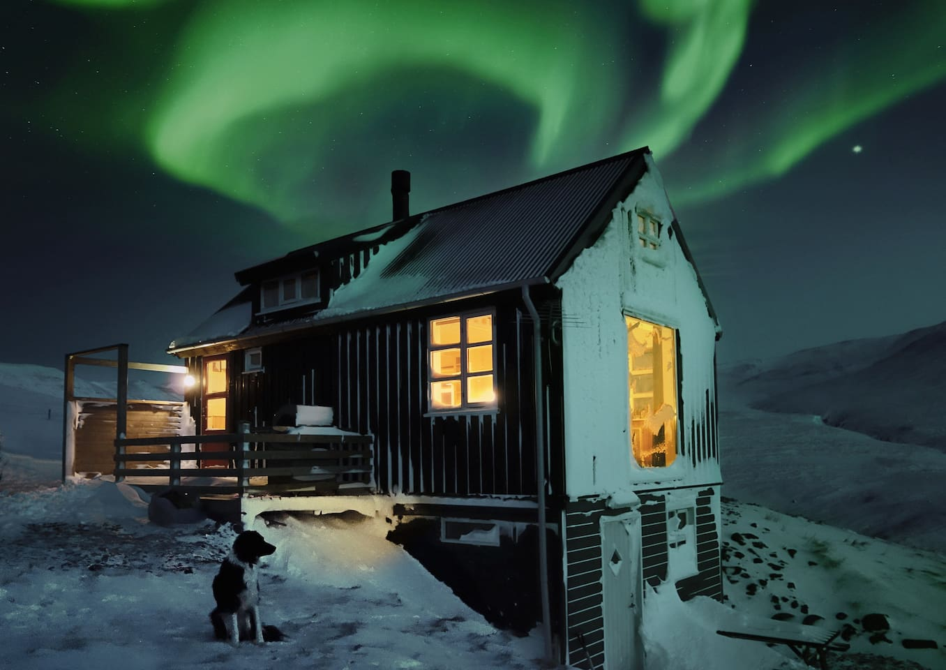 """WOW one of the best places I've ever had the pleasure of staying anywhere in the world!! We even got to see the Northern Lights! I only wish we had more time! A truly special place on earth, just what we wanted!"""