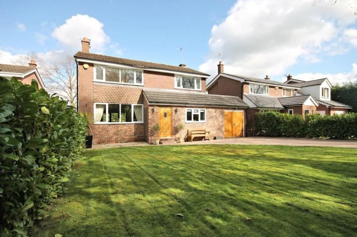 3bd Contemporary Home, nr Airport - Knutsford