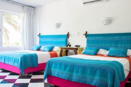 Welcome Sea Front Cozy Condo Cancún - Cancún - Apartment